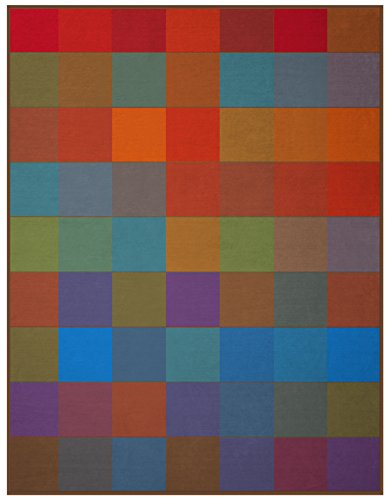 Biederlack Wohn- und Kuscheldecke, 100 % Baumwolle, Samtband-Einfassung, 150 x 200 cm, Mehrfarbig, Cotton Pure, 649539