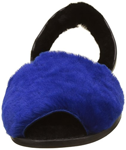 Minorquines - Avarca Mouton Alaska Bleu, cinturino posteriore Donna Blu (Bleu)