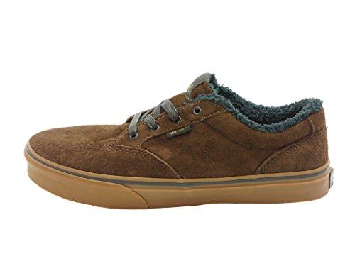 Vans Y Winston - MTE Unisex-Kinder Sneaker Dunkelbraun