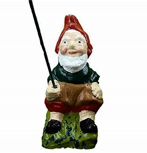 Angeln Gnome ~ Toby ~ sitzend Fisherman