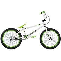 KS Cycling BMX Freestyle 20'' Twentyinch weiß-grün Fahrrad, Zoll