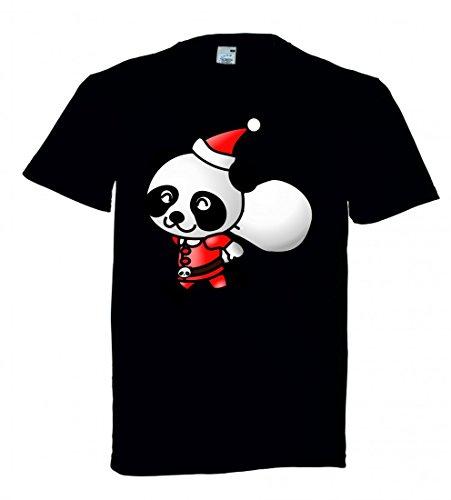 Black Santa Claus Hut (T-Shirt