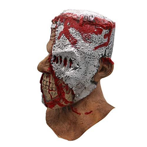 Halloween Masken Bloody Zombie Kostümparty Rubber Latex Maske für Halloween Walking Dead Halloween Scary Maske Horror Adult Kostüm Zubehör Unisex - Carol The Walking Dead Kostüm