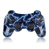 Mando HQX PS3 Inalámbrico Wireless de Alta Calidad High Quality con Double Shock y Función SIXAXIS para Playstation3.