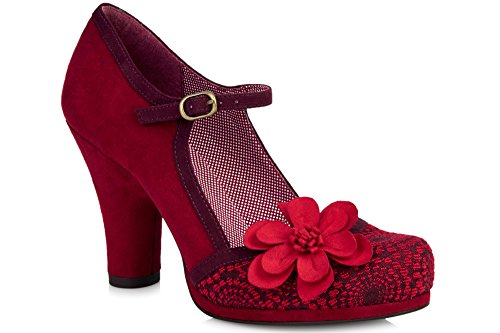 RUBY SHOO Ruby Shoo Tanya 9009 Blue Red