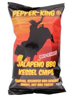 Preisvergleich Produktbild Pepper-King Jalapeño BBQ Kessel Chips