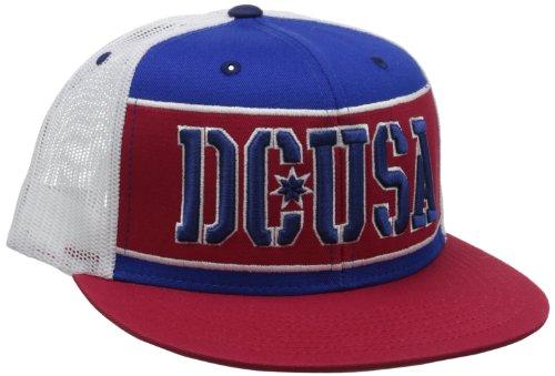 DC RD Bar Stripe Trucker Cap One Size Royal Blue