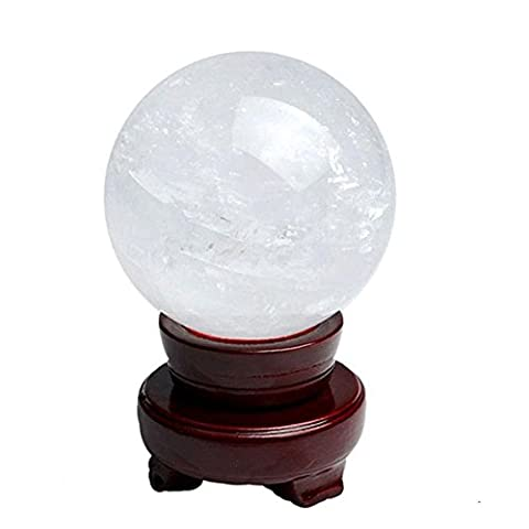 Natürliche Kristallkugel Glück Feng Shui Bürodekoration , cm in diameter 13