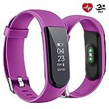 OMORC Montre Cardio, Bracelet Connecté Sport Cardiofréquencemètre Smartwatch Bluetooth 4.0 Montre GPS Etanche IP67 Tracker d'activité Podomètre pour iPhone Android Smartphones