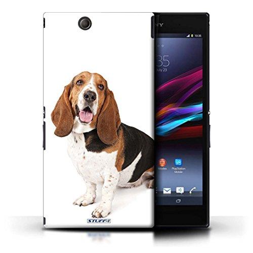 Kobalt® Imprimé Etui / Coque pour Sony Xperia Z Ultra / Bull Terrier conception / Série Chiens Basset Hound
