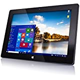 10'' 32GB Windows Tablet PC from Fusion5®, Now in Windows 10, Intel Baytrail-T CR (Quad-Core) Z3735F, Touch Screen, Bluetooth, Dual Camera, 1GB DDR3 (10'' IPS-1280*800)