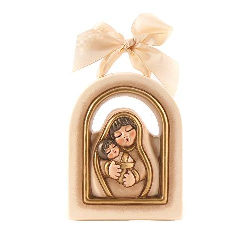 Formella maria con bambino