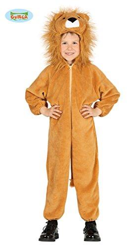 Löwe Löwenkostüm für Kinder Karneval Fasching Tier Overall -