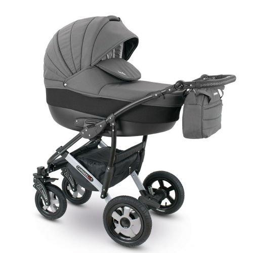 Camarelo SEVILLA 3in1 mit Babyschale, Kombikinderwagen - Kinderwagen - Buggy Farbe XSE-2...