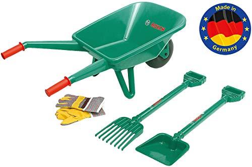 Klein - 2752 - Jeu de plein air - Set de jardinage Bosch avec brouette, 4 pièces