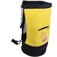 Baoblaze 1 Unidad de Funda de Almacenamiento de Bola de Baloncesto Bolsa de Trasportación de Pelota de Fútbol - Amarillo