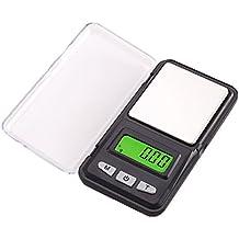 Lzndeal 500 G/0.01g Báscula de bolsillo digital portátil Mini escala joyas escala LCD