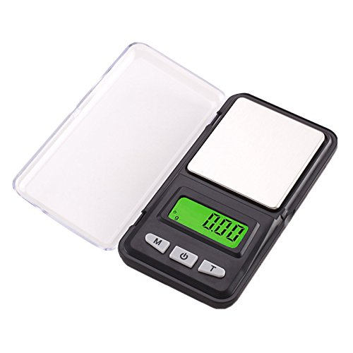 Lzndeal 500 G/0.01g Báscula bolsillo digital portátil
