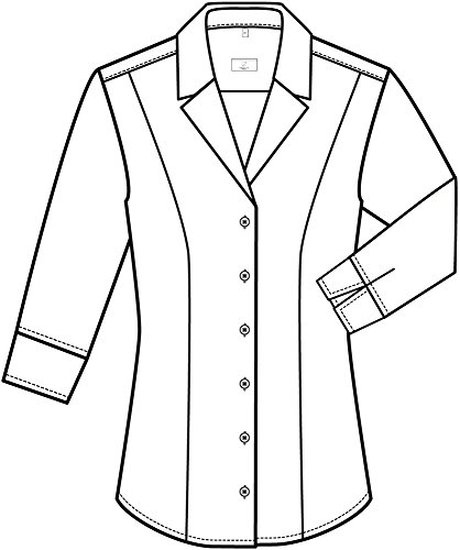 Greiff Damen-Bluse BASIC Regular Fit, 6506 Weiß
