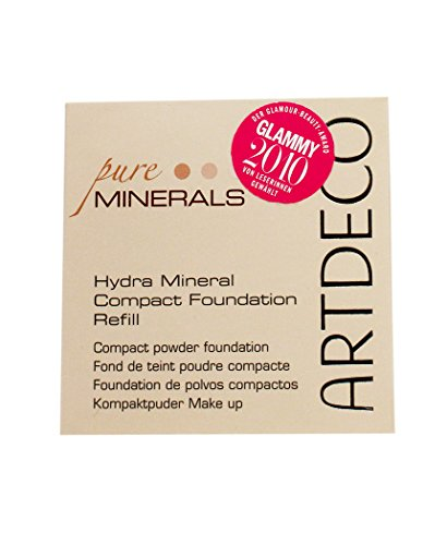 Hydra Mineral Compact Foundation Refill, 75 bernsteingelb, Pure Minerals, Artdeco
