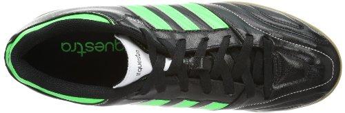 adidas Performance 11Questra IN Q23848 Herren Fußballschuhe Schwarz (BLACK1/GRNZE)