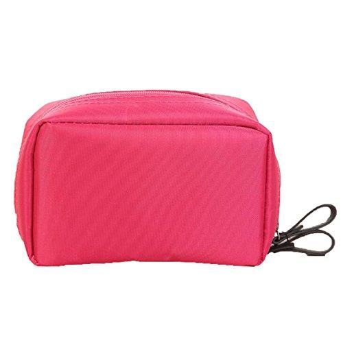 Jia Qing Borsa Cosmetica Multifunzionale Portatile Da Viaggio Borsa Cosmetica Universale Di Grande Capacità Pink