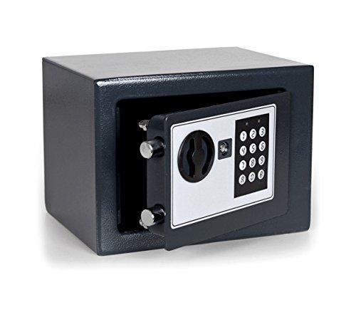 MWS2277 Caja fuerte electrónica con funcionamiento a pilas (23 x 17 c