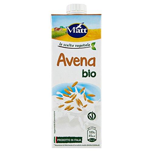 Matt - Avena Bio - Latte Vegetale di Avena Bio - Senza Lattosio - 1 l
