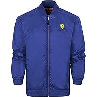 Puma Ferrari Scuderia con Zip giacca leggera, colore: blu