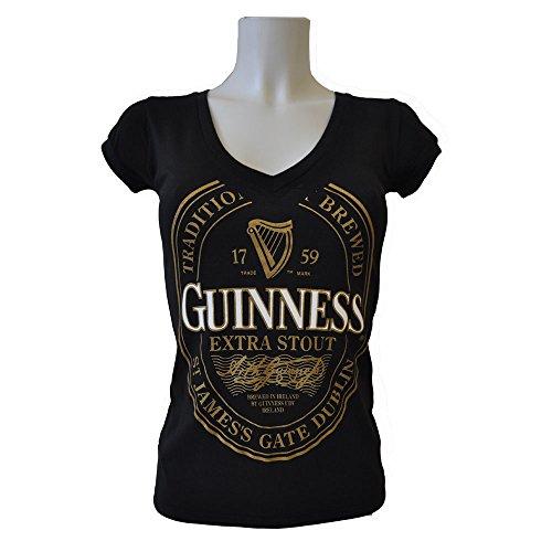 t-shirt-guinness-femme-avec-etiquette-guinness-doree