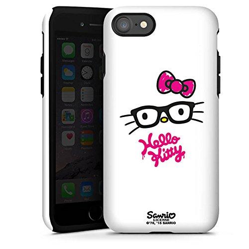 Apple iPhone X Silikon Hülle Case Schutzhülle Hello Kitty Merchandise Fanartikel Kawaii Tough Case glänzend