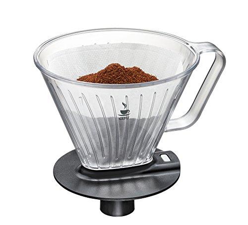 GEFU 16001 Kaffeefilter Fabiano - Filteraufsatz für die Kaffeekanne und Thermoskanne - Passend für...