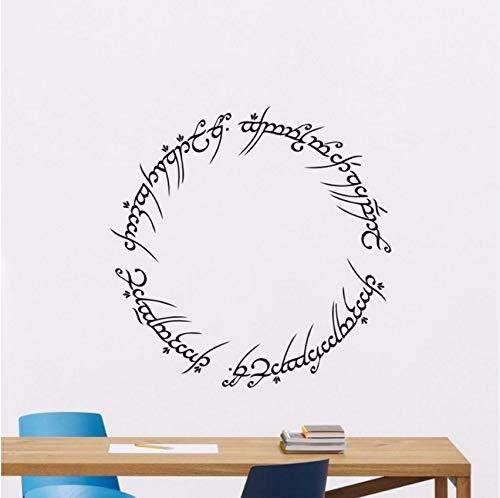 Lvabc Seigneur Des Anneaux Sticker Décor À La Maison Vinyle Film Autocollant Anneau De Puissance Affiche Vinyle Autocollant Mural Vinyle Chaud Décor À La Maison 42X42Cm Pdf - ePub - Audiolivre Telecharger