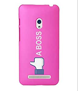 KolorEdge Back Cover For Asus Zenfone 5 - Pink (1980-Ke15105Zen5Pink3D)