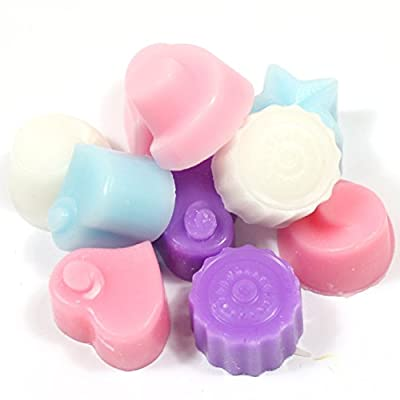 Handmade Premium Quality Highly Scented Wax Melts. 10 x 5g Melts in each pack - Floral Mix by Gower Coast Candles