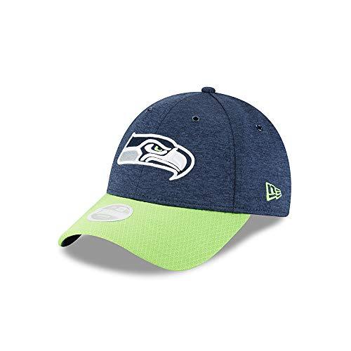 New Era Seattle Seahawks 9forty Women Adjustable NFL 2018 OTC Sideline Navy - One-Size (Seahawks Womans Hut)