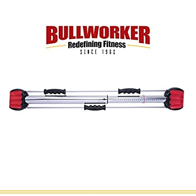 "Bullworker 36"" Bow Classic -Full Body Workout- Compact Home Gym Isometric Exercise Equipment for Fast Strength Training Gains. Cross Training Fitness; Chest, Back, Arms, and Abs Exercise Machine by Bullworker"