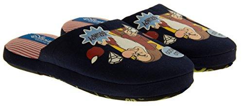 Footwear Studio , Chaussons pour fille Bleu - Azul - Navy Blue GRUMPY