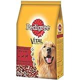 Pedigree Beef & Vegetables, Dry Dog Food (Adult), 3kg