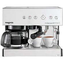 Magimix 11407 - Cafetera (Independiente, Cromo, Goteo, De café molido, Café expreso, 1,4L)