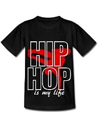Spreadshirt Breakdance Hip-Hop Is My Life T-shirt Ado