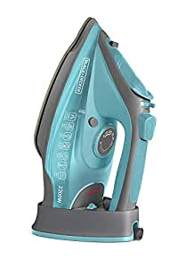 Black+Decker BD BXIR2201IN 2200-Watt Cord & Cordless Steam Iron (Green)