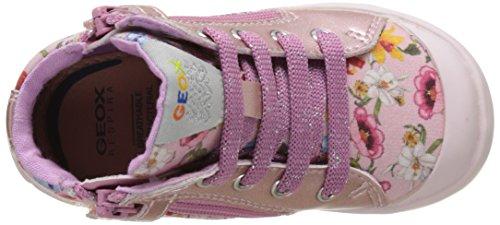 Geox B Kiwi Girl A, Chaussures Marche Bébé Fille Rose (LT PINKC8010)