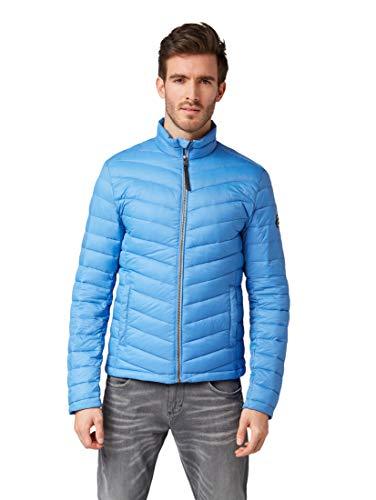 TOM TAILOR für Männer Jacken & Jackets leichte Steppjacke Water Sport Blue, XXL