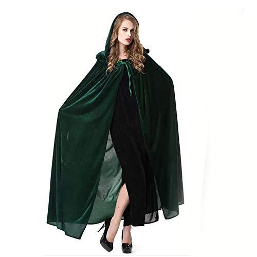 splay Kostüm Männer & Kinder Tunika Kapuzen Robe Mit Kapuze Mantel Hexen Cape Mittelalterlichen Mit Kapuze Urlaub Partei Ausrüstung ()
