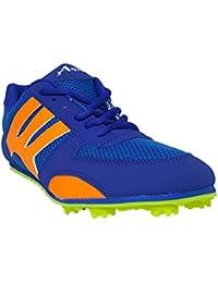 XAqua Boys Athletic Running Spike Shoes Blue Bolt