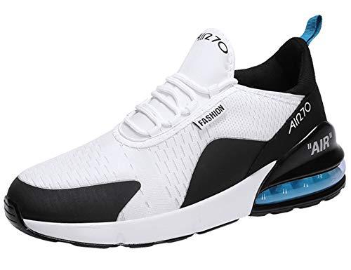 GNEDIAE Donna Air 270 a Collo Basso Scarpe da Ginnastica Sportive Scarpe da Corsa Running Palestra Sneakers Bianco 37 EU