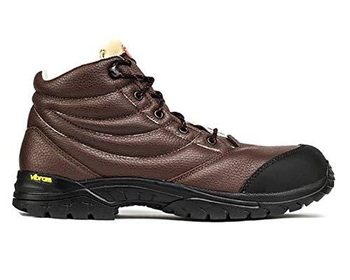Shoes zapatos Schuhe chaussures Sicherheitsschuhe chaussures de sécurité TREEMME scarpa di sicurezza antinfortunistica pelle pieno fiore suola VIBRAM gomma fodera traspirante Made in Italy cod. 1505