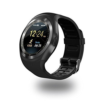 Casreen Smart Watch Compatible with Swipe ELITE 2 Dual Sim COMPATIBLE Bluetooth Y1 Smartwatch with SIM Card Support | Android 5.1 OS | Facebook | Whatsapp | Activity Tracker | Fitness Band | Music | Micro SD card Support COMPATIBLE with ZTE Sonata COMPATIBLE WITH Android | IOS | Apple | Samsung | Moto | Oppo | Vivo | OnePlus | Blackberry | Asus | Nokia | Gionee | LG | Huawei | Micromax | Lava By Casreen  available at amazon for Rs.2299
