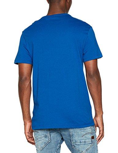 G-STAR RAW Herren T-Shirt Chule Regular Rt S/S Blau (Lt Nassau Blue 8048)